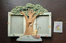 More details for disney double photo frame  pooh & piglet