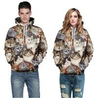 Men Womne Lovers Hip Hop Casual Autumn Loose Casual Sweatshirt Pullover Hoodies