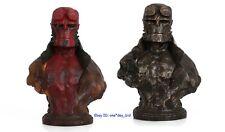 Hellboy Resin Bust Model Comic Version Red Color Decoration Statue Recast