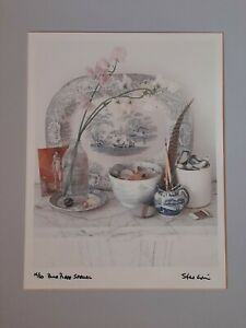 """Photographic limited edition Print by Steve Lovi """"Blue Plate Special """"no 15 /50"""