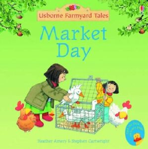 Market Day 2005 Usbourne Farmyard Tales MINI-BOOK SERIES 5cmx15cm Heather Emery