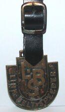 * Link Belt Speeder LBS Crane Loader Watch Fob Robbins Co Attleboro Construction
