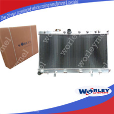 For SUBARU RADIATOR WRX STI GDB GD8 52mm 2002-2007 3 ROW ALUMINUM