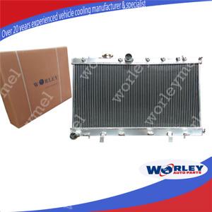 52MM FOR Subaru Impreza Wrx STI GDB GDA 02-07 MT 03 04 05 06 ALUMINUM RADIATOR