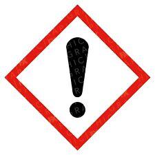 CLP Health Hazardous Hazard Warning Labels Stickers COSHH PPE