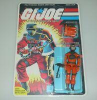 *RECARDED* 1985 GI Joe Barbecue v1 Figure Complete Sealed *CUSTOM File Card Back