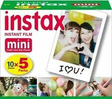 Fujifilm 96090 Instax Mini Instant Film, 10 Sheets (Pack of 5)