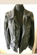 Tommy Hifilger Mens Denim Jacket with Studs Size XL
