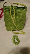 new  lime s up reversible bag  mini tote