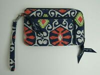Vera Bradley Sun Valley Summer 2013 Retired Pattern Wallet w Wristlet Strap