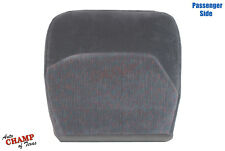 1994-1997 Ford F-150 F-250 F-350 XLT-Passenger Side Bottom Cloth Seat Cover Gray