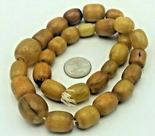Old Antique 100% Natural Baltic Amber Necklace Yellow Egg Yolk 118 Gramm