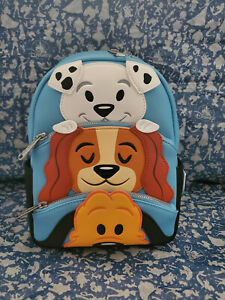 Disney Parks Dogs Mini Loungefly Backpack Pluto Lady And Dalmatian 2020