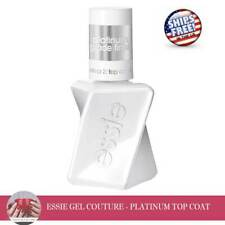 Essie Gel Couture - PLATINUM TOP COAT - 0.46oz - FREE SHIPPING in US