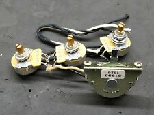 2010 Fender Strat Guitar Wiring Assembly Parts 250K CTS POTS 5-way Pickup Switch