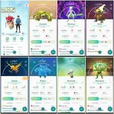 Pokémon Account Go Level 41   201 Shiny   189 Legendary   53,4*Pokemon (Rare)