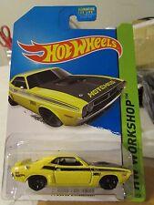 Hot Wheels '71 Dodge Challenger HW Workshop Yellow