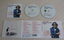 CD + DVD ALBUM DIGIPACK  POWER TO THE PEOPLE THE HITS JOHN LENNON 15 TITRES 2010