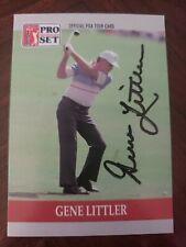 Gene Littler, Autographed 1990 ProSet Golf #91 (VG) Best Price on Ebay!!