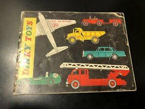 Dinky Toys 1961 U.K. United Kingdom 9th Edition Catalog - Die Cast Models!!