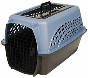 """Petmate Pet Kennel Travel Carrier Top Load with 2 Doors - 24"""" long / 15"""" high"""