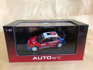 AUTOart 1:43 Citroen Xsara WRC 2005  #1Winner Monte Carlo 60537 From Japan