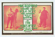 Bill Graham 278 Postcard Mike Bloomfield Ten Years After 1971 Apr 29