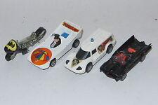 vintage corgi toys corgi juniors Batman batmobile joker penguin car batbike lot