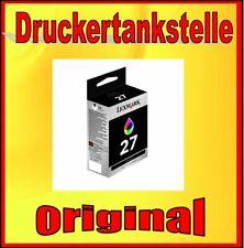 Original Cartridge lexmark 27 Color i3 X74 X75 X1100 Z13 Z23 Z25 Z35 Z33 10N0027