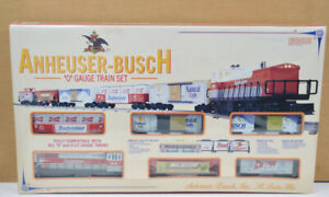 K-LINE #1521 Anheuser Busch O Gauge Train Set - Free U.S. Shipping