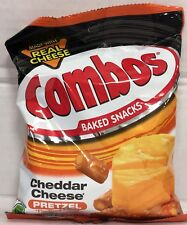 Combos Cheddar Cheese Pretzel Baked Snacks 6.30 oz