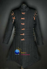Medieval Gambeson Jacket dress Thick padded costumes coat Aketon Armor sca larp