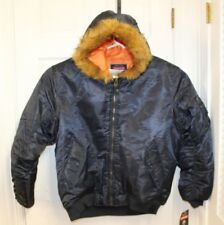 1db6bf711b0 NWT Jordan Craig Mens Hooded Puffer Coat Sz XXL Insulated Winter Jacket  Faux Fur