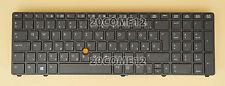 New For HP Elitebook 8760w 8770w Keyboard Hungarian Magyar Frame No BACKLIT