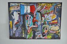 Osso Denis - Peinture - Technique Mixte - Signée - 2014