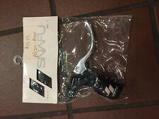 Snafu BMX ou VTT Double Lock-on 140 Mm Guidon motif de diamant Poignées-Noir