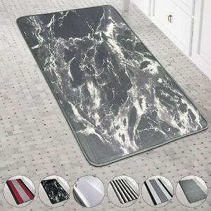 Non-Slip Bath Mat Soft Thick Bathroom Rug Water Absorbent Shower Mat Washable