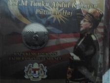 Yr 2005 100 year Of Tunku Abdul Rahman Putra AL-HAJ  Coin Card - BU