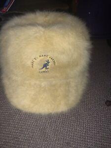 NWT Adult Sample Kangol X Marc Jacobs Furgora Spacecap Hat Cap L Oil Yellow