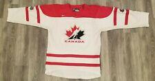 Team Canada - Hockey Jersey - Olympics - WJC - GOLD - RBC -  promotional - Bauer