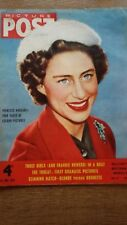 PICTURE POST MAGAZINE Princess Margaret Color Pictures Frankie Howerd News 1954
