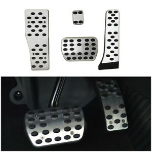 Fit For Mercedes Benz A E C S GLK CLK SL W203 W204 W212 AMG Pedal Covers Sets