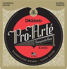 D'addario Ej45c Pro Arte tension normale Classique Composite