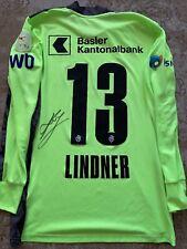Heinz Lindner / signiertes Trikot ( matchworn )