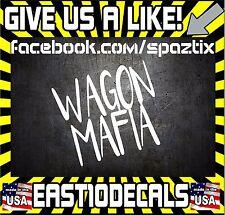 Wagon Mafia Bumper Sticker Vinyl Window Decal Car JDM Sticker  Decal CR-V RD1