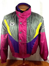 Phenix Sports 3 in 1 Ski Snowboard Jacket Vest Purple Gray Fuscia Yellow Zip XS
