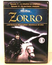 """DVD série """" ZORRO """" n°6 """" épisode 11 et 12 saison 1"""