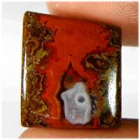 18.80Cts100%Natural Morcco Seam Agate Fancy Cabochon Loose Gemstone
