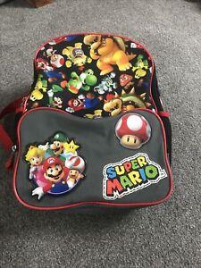 Super Mario Backpack School Bag Unisex