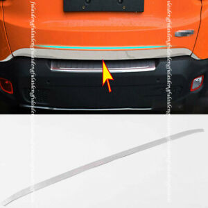 For Jeep Renegade 2015-2020 Rear Trunk Molding Cover Tailgate Lid Trunk Trim